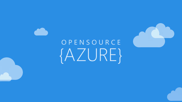 ms azure open source cloud