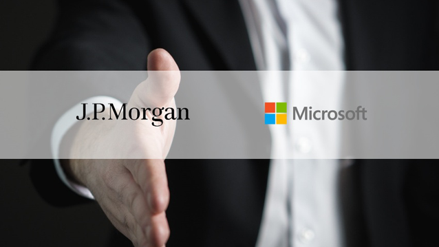 jpmorgan microsoft partnership announced