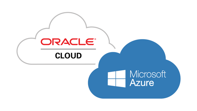 Microsoft Azure and Oracle Cloud