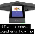 Microsoft Teams in Poly Trio